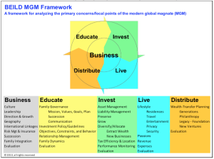 Table 3: The BEILD Framework for analyzing the primary concerns/focal points of the MGM)