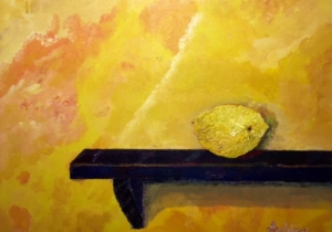 Citrus on a Shelf by Michael Ashley